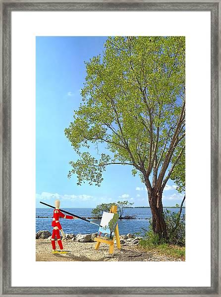 Artist's Art Framed Print