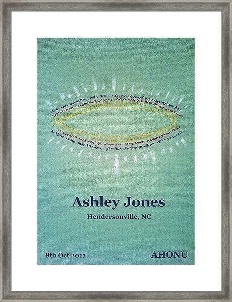 Ashley Jones Framed Print