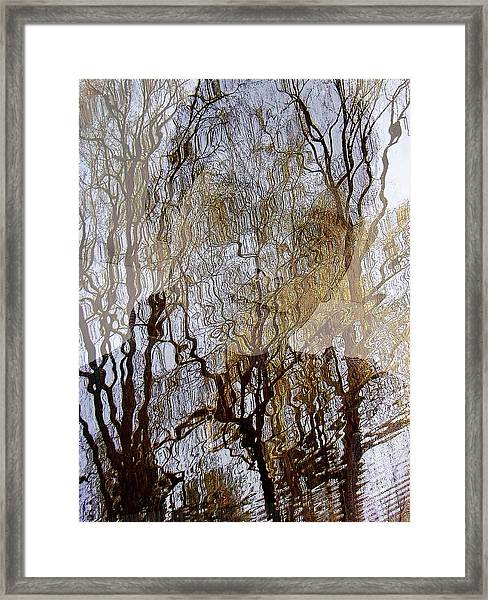 Asphalt - Portrait Of A Boy Framed Print