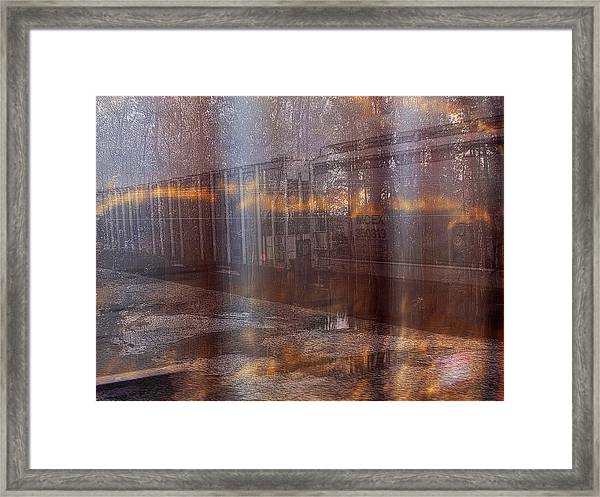 Asphalt Series - 1 Framed Print