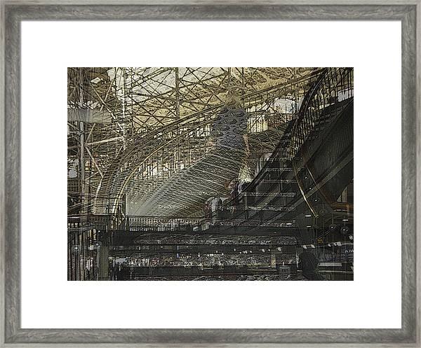 Asphalt Series - 4 Framed Print