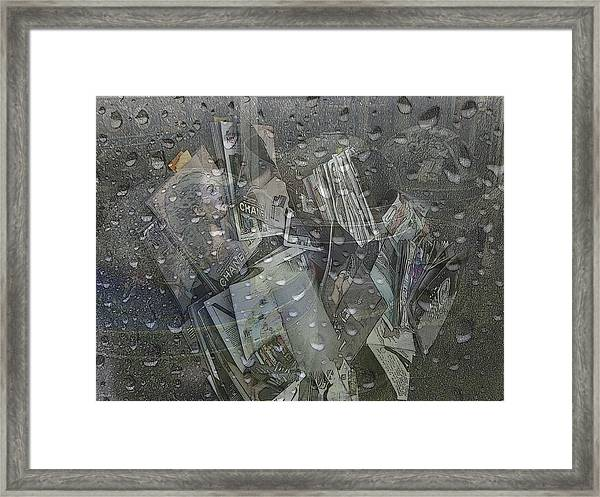 Asphalt Series - 5 Framed Print