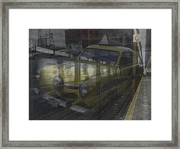 Asphalt Series - 8 Framed Print