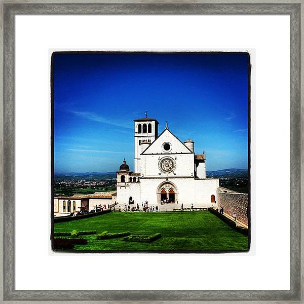 Assisi Framed Print
