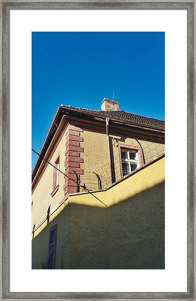 At The Corner Of Cheer And Despair   Framed Print