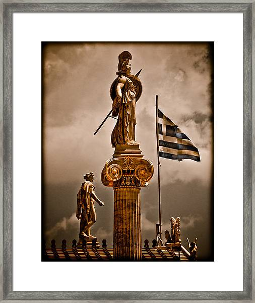 Athens, Greece - Athena Nike Framed Print