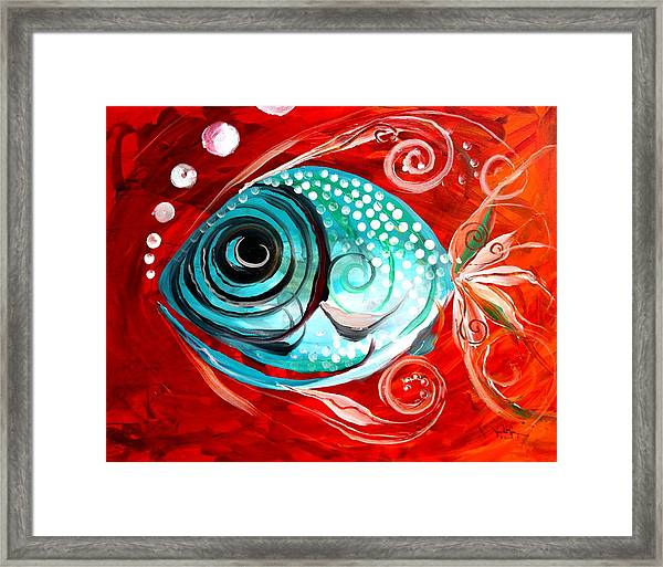 Attract Framed Print