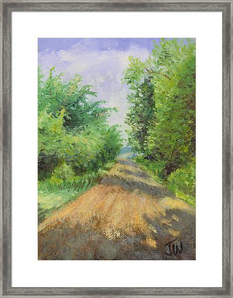 August Lane Framed Print