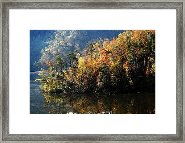 Autumn At Jenny Wiley Framed Print