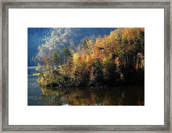 Autumn At Jenny Wiley Framed Print