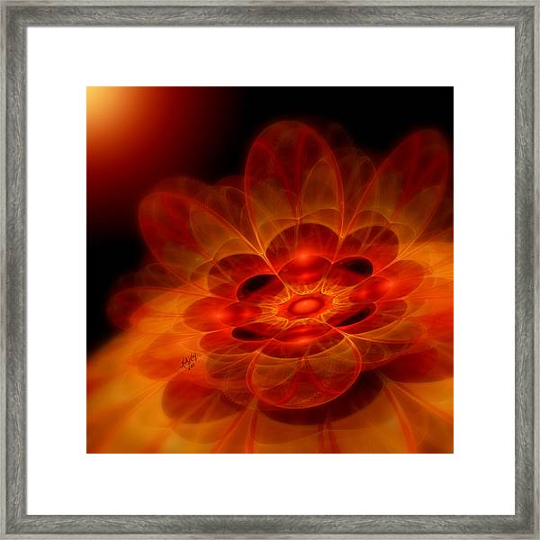 Autumn Awakening Framed Print