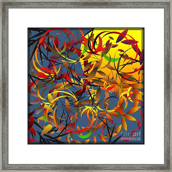 Autumn Wind 2012 Framed Print