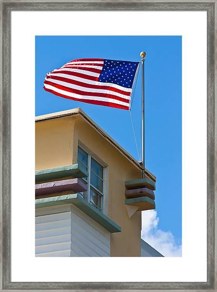 Avalon Hotel In Miami Beach Framed Print