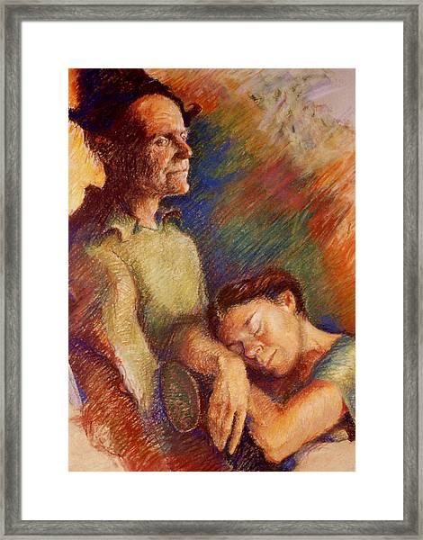 Awake And Asleep Framed Print