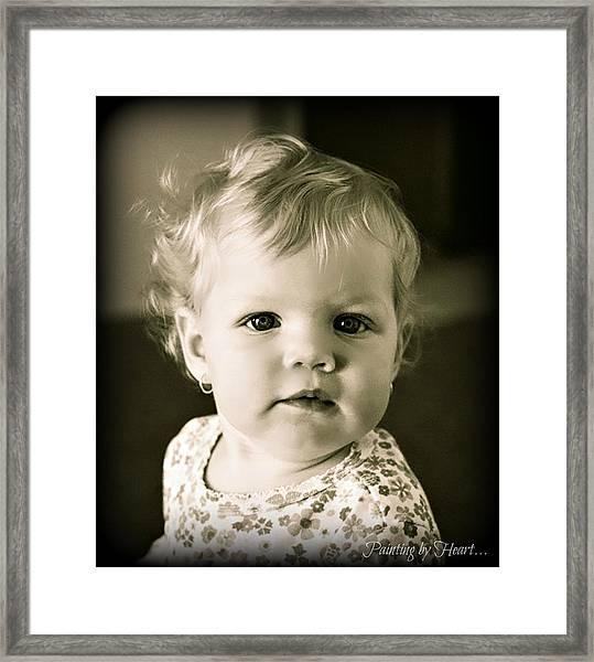 Aydan Framed Print