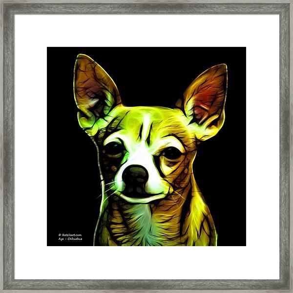 Aye Chihuahua  Framed Print