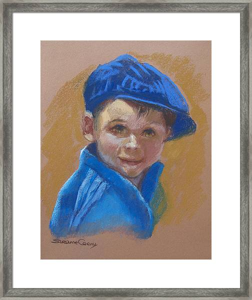 Baby Moses Framed Print