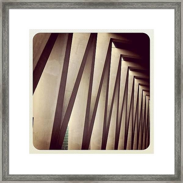 Back Entrance. #minthotel #oosterdok Framed Print