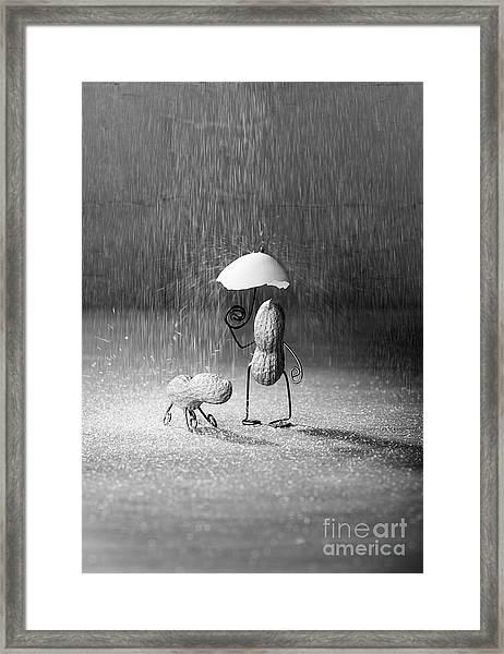 Bad Weather 01 Framed Print