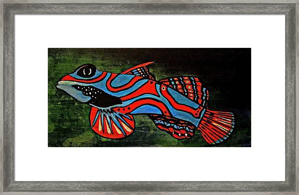 Badfruityfish Framed Print