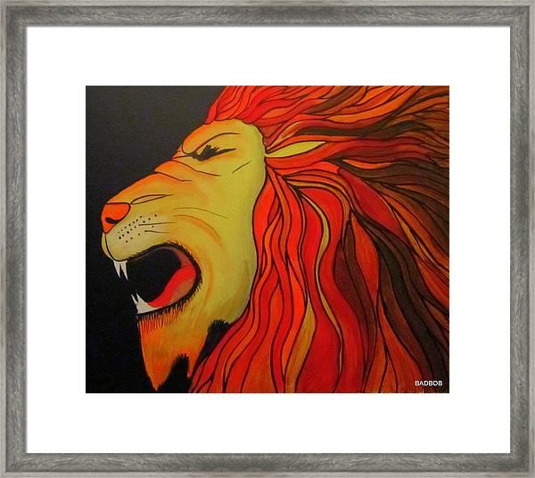 Badlion Framed Print