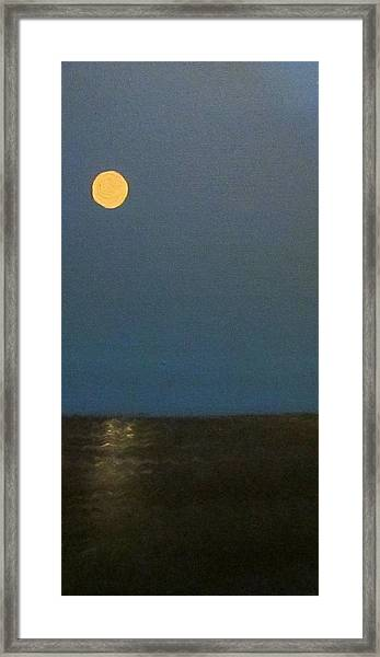 Badmoon  Framed Print