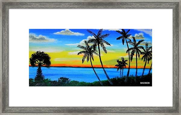 Badriver Framed Print