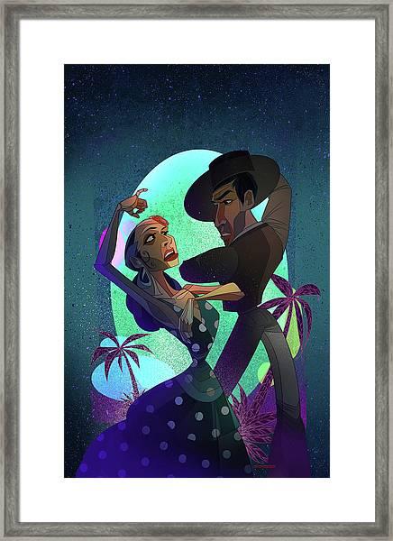 Baile De Amor Framed Print