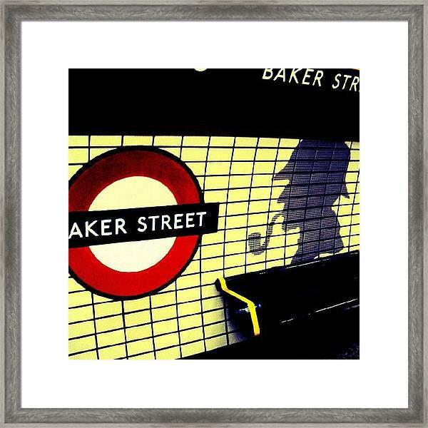 Baker Street Station, May 2012 | Framed Print