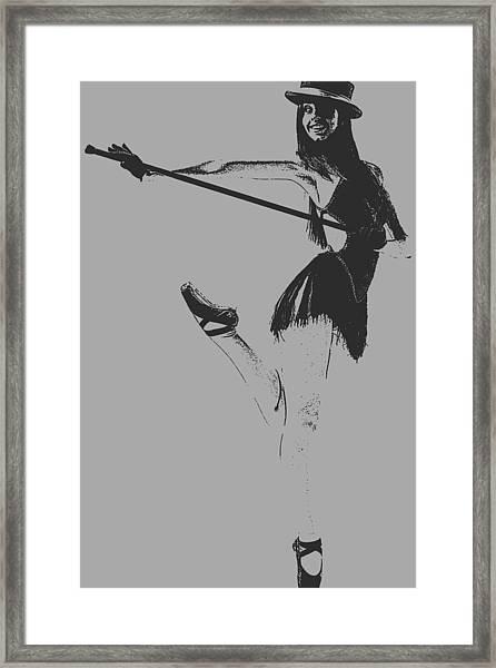 Ballet Girl Framed Print