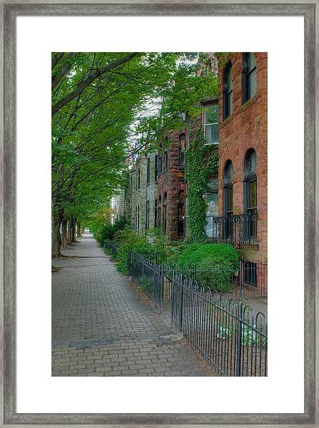 Baltimore Town Framed Print