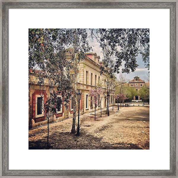 Barcelona - Bcn Framed Print