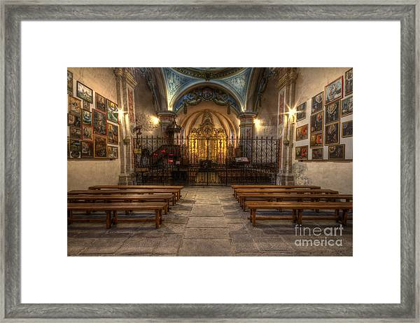 Baroque Church In Savoire France 4 Framed Print