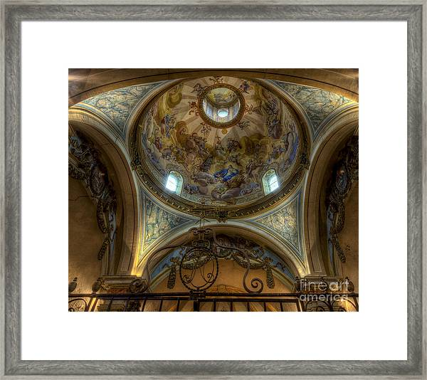 Baroque Church In Savoire France 5 Framed Print