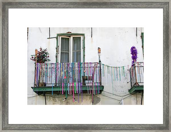 Bead The Porch Framed Print