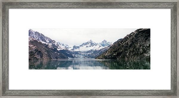 Beautiful Glacier Bay Framed Print