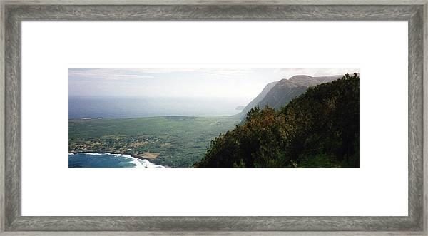 Beautiful Hawaii Shore Framed Print