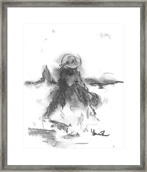Being Happy Framed Print