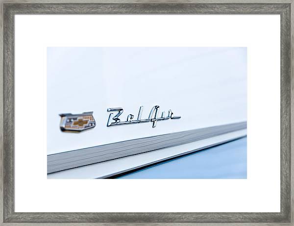 Bel Air Classic Framed Print
