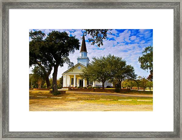 Belin United Methodist Church Framed Print