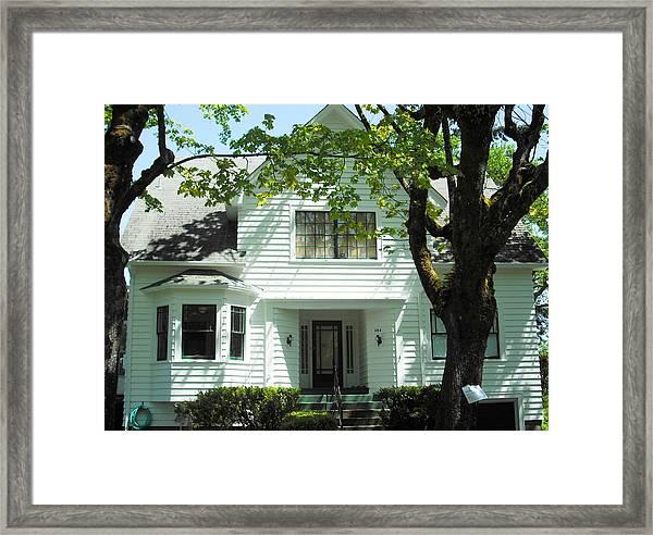 Bella Swan House Saint Helens Framed Print