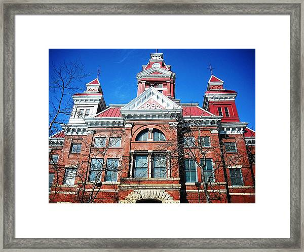 Bellingham City Hall Framed Print