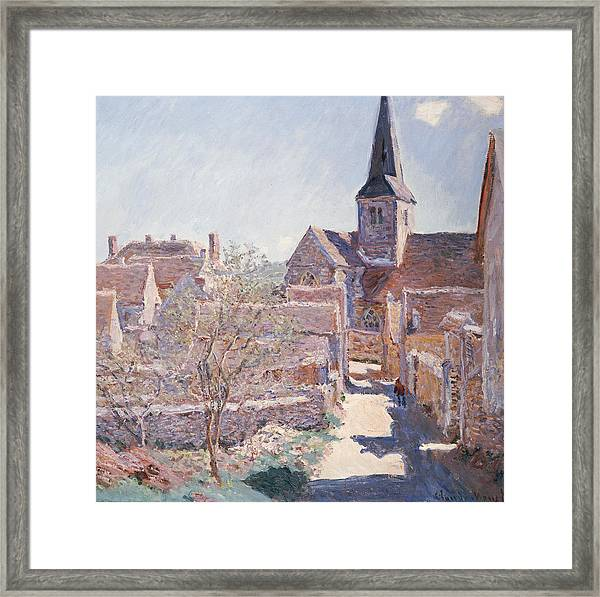 Bennecourt Framed Print