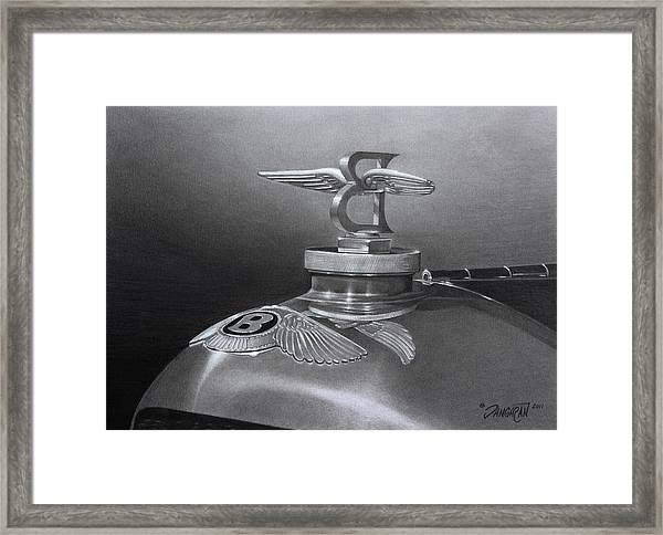 Bentley Corsica Coupe  Framed Print