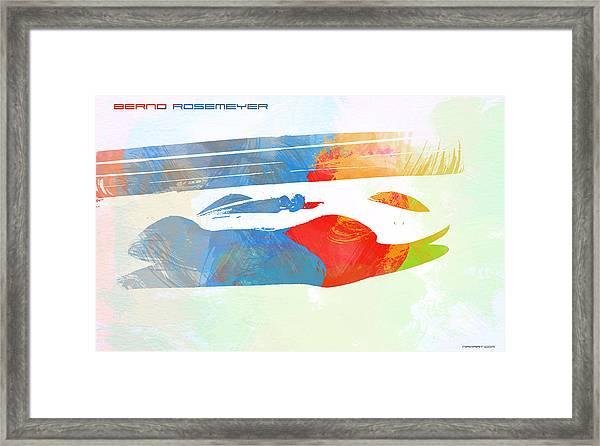 Bernd Rosemeyer Framed Print