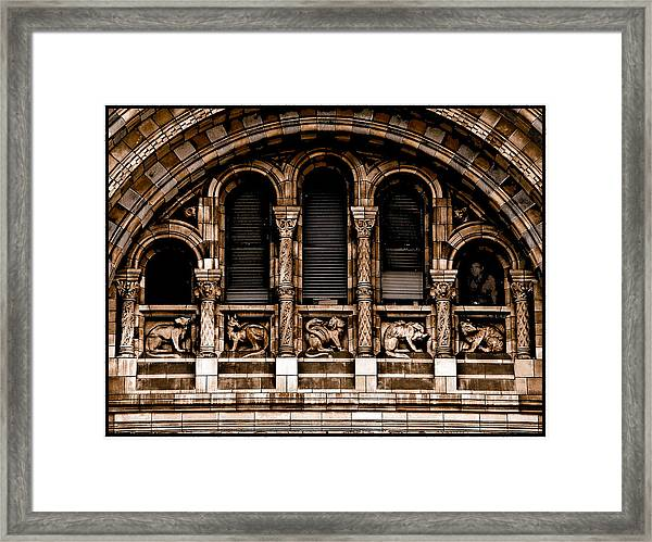 London, England - Bestiary Framed Print