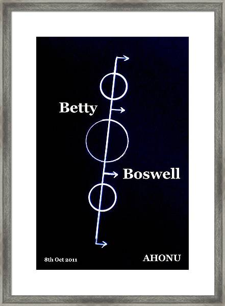 Betty Boswell Framed Print