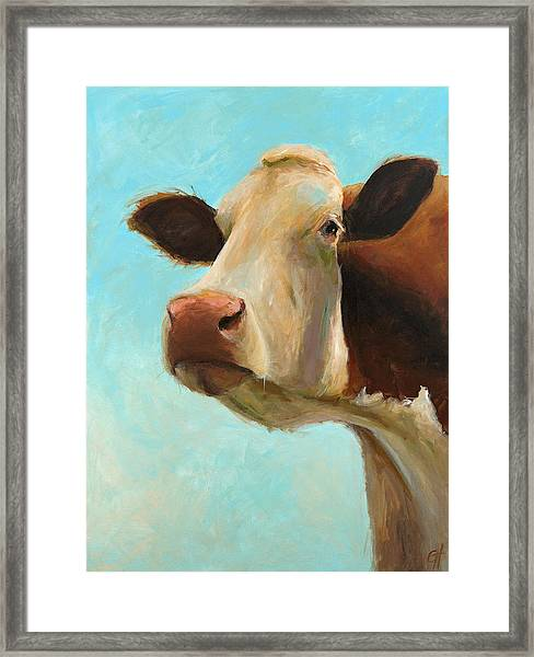 Betty Framed Print by Cari Humphry