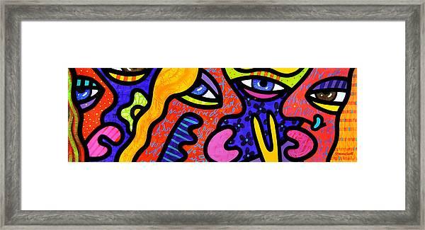 Bev's Beauty Bar Framed Print