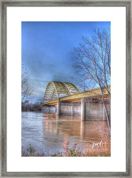 Big Mac Bridge Framed Print